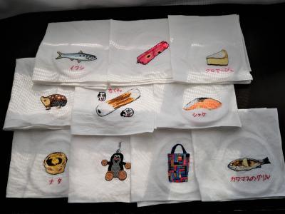 コロナで旅行に行けないから旅行の思い出を刺繍しまくってみました。(2020年4月)