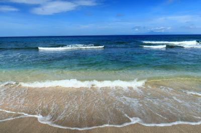 恭喜發財!2歳娘と旧正月旅17★プールで泳いだりビーチを歩いたり ~ホリデイ リゾート ロンボク~