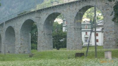 スイス 鉄道でぐるっと一回り17日間(10) ベルニナ急行