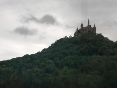 シニア主婦のユーレイルパス一人旅(6)  ホーエンツォレルン城へ