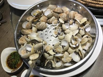 2017香港の旅 蒸気鍋も食べました