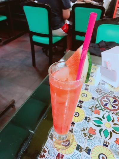 2018バンコクの旅 ~スイカジュースが美味しかった!~