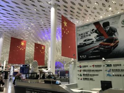 上海のLEDの展示会にお客さまと行きました