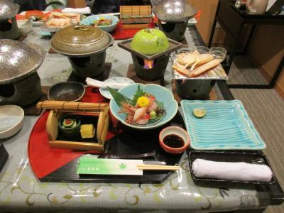 2019年暮れ・片山津温泉への家族旅行