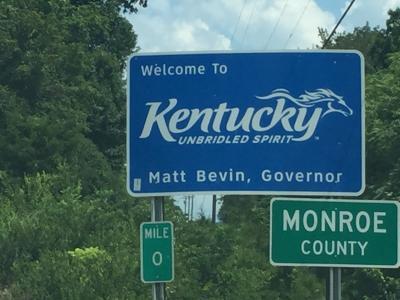 ケンタッキー州 ー ドライブ中の風景