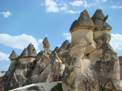 陸路で巡るトルコとレヴァント周遊旅 ④ トルコ前編 (デリンクユ地下都市とウフララ渓谷)