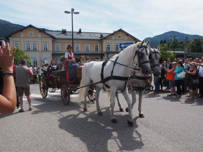2019.8 オーストリア旅行記8 ~バートイシュルのお祭り!~
