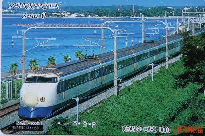 オレンジカードで振り返る新幹線の歴史