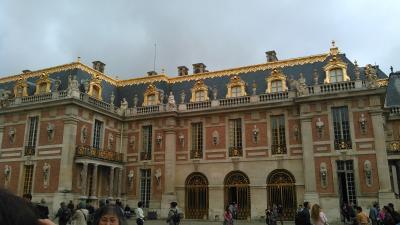 マダム  人生初のフランス旅 4日目 パリ ベルサイユ宮殿・市内車窓ドライブ