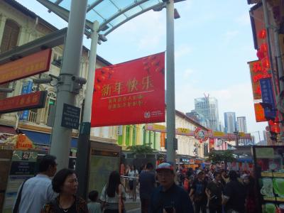 今年最初(今年最後?)の海外旅行-2年半ぶりのシンガポール