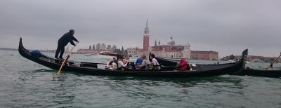 ゴンドラ乗船、サンマルコ寺院入場、水上タクシー乗船がオススメです