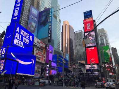 ニューヨーク 2019年末年始 カウントダウン 女2人旅 1~2日目