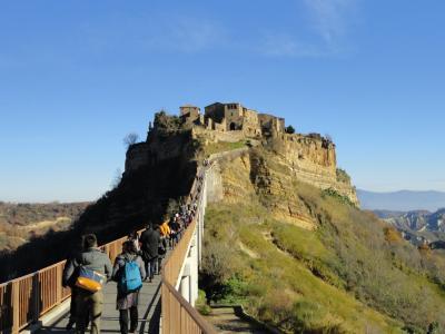 ローマ6日間の旅2013-4その2 元日は日帰り絶景ツアーを満喫!