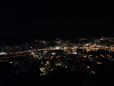 稲佐山から見た長崎の夜景&『JR九州ホテル長崎』宿泊記◆2018年春/旅仲間と行く長崎・博多・糸島《その6》