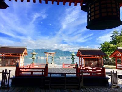 広島・宮島ふたり旅 ☆やまない雨はない☆ 西日本豪雨の復興を祈る