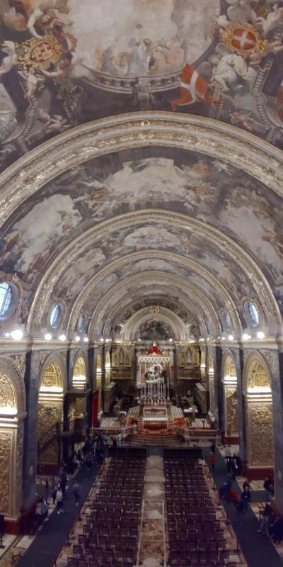 大晦日からマルタ島とキプロス島を巡るドライブ旅(猫とのふれあいも楽し♪)【8】ヴァレッタの街を満喫! 聖ヨハネ大聖堂は凄かった!