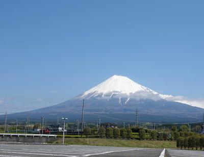 散歩・富士陸上競技場周辺 2020.04.25