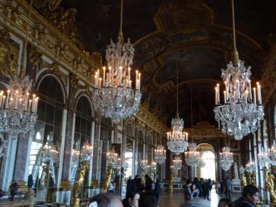 ②魅力のフランスパリ・モンサンミッシェル に飛びついて ベルサイユ宮殿・シャルトル大聖堂編