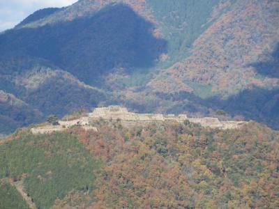 竹田城跡と城下町