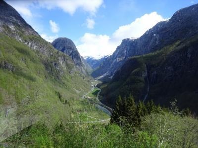 混乱の10連休、北欧の美しい自然と街巡りの旅:スウェーデン、ノルウェー旅行【18】(2019年GW 5日目④ 千変万化のフィヨルド観光)