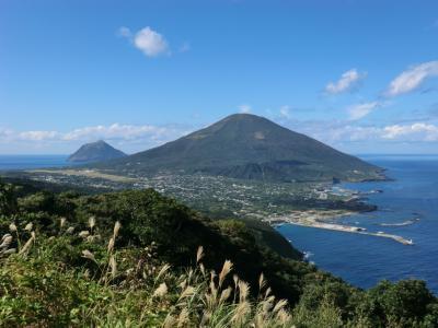 ぶらり島旅/八丈島・その4.絶景を堪能し、ANAで羽田へ帰還。