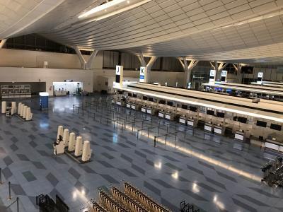 2020年4月 羽田空港国際線ターミナル