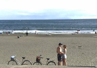 海よ、久々にちょっと風吹かれに湘南鵠沼、しかしマスコミ報道勘弁してほしいな編