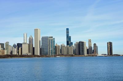 ANA特典ファーストで行くニューヨーク・シカゴ、市内観光1ミース作品とウイリス(シアーズ)タワー