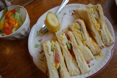 20200505-1 大阪 Cafe Janis。祝日の朝をモーニングセットでゆっくり。