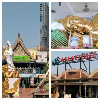 ASIATIQUE ,Wat Worachanyawat&RUNGAROON THAI MASSAGE