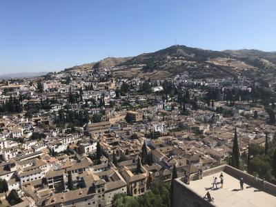 初めてのパラドールスペイン旅。⑤グラナダ アルハンブラ宮殿へ