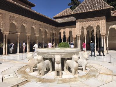 初めてのパラドールスペイン旅。⑥アルハンブラ宮殿 ナスル見学!