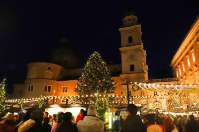 ☆☆ X'masの煌めきを求めて☆☆ ~大聖堂の鐘の音に包まれて ザルツブルグ③ ザルツブルグの街をてくてく、、モーツァルトに会いに 編 ~