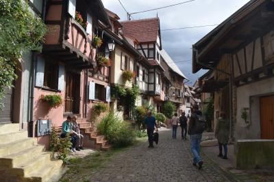 2019フランス (4日目) 1日でめぐるアルザスの美しくて小さな村