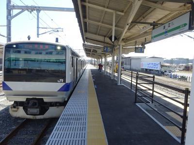 人のいないところへ2 常磐線復旧区間に行く【その1】 復旧区間に乗って富岡から浪江へ