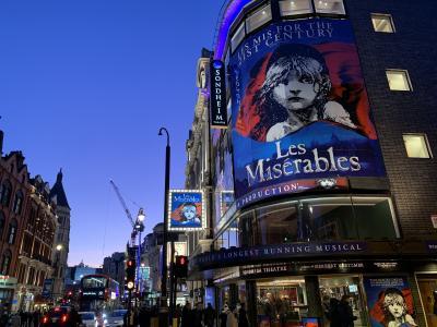 イギリス(3)革命前に向日葵を/ロンドン