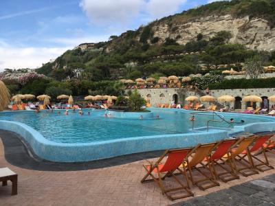 2019年7月 南イタリア新婚旅行 ⑩イスキア 温泉公園など