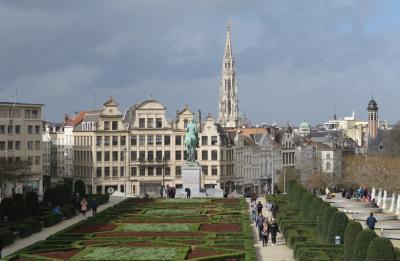 シニア夫婦の欧州5カ国ゆっくり旅行30日 (11)ブリュッセルへ日帰りです(3月9日)