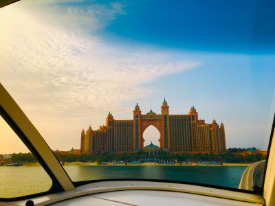 UAE4泊6日の旅行記4日目☆ダウンタウン付近2泊+アトランティスザパーム2泊