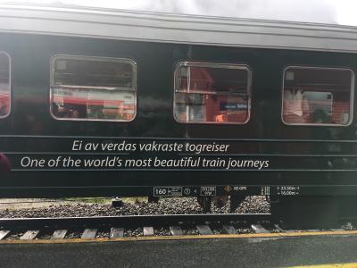 憧れのフロム鉄道で優雅なひととき*北欧の旅
