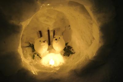 2020年北海道雪まつりの旅5日目 小樽雪あかりの路2020(小樽) 中編
