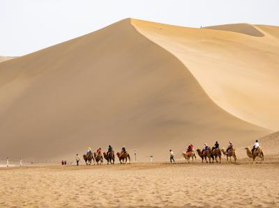 シルクロードの旅(西寧、青海湖、敦煌、張掖、蘭州)