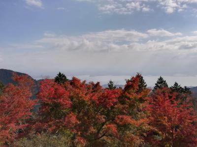 4回目の琵琶湖マリオット その前に紅葉の延暦寺と口コミの良かったAUNTY-MEE BURGER経由です
