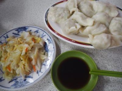 年越し台北④夜市の屋台はしごで絶品ツルツルモチモチ水餃子・鶏飯