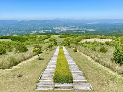 栗野岳登山「日本一の枕木階段」から一周