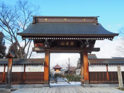 妙國寺 自刃した白虎隊の少年らの亡骸を一番最初に埋葬した寺院。いたたまれなかった事でしょう。合掌