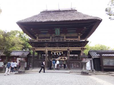 【2017GW九州旅行 Day1】人吉でうなぎを食べ球磨川の川下り&青井阿蘇神社