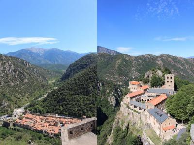 ヴィルフランシュ・ド・コンフラン_Villefranche-de-Conflent ヴォーバンの要塞!ピレネーの渓谷に佇む逞しくも美しい村