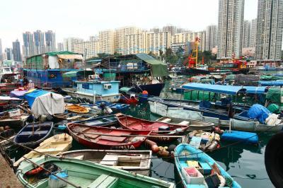 香港★香港は今日も元気です2 數碼港から香港仔までさんぽ 夕食は臺灣風牛肉麺 ~老媽拌麵~