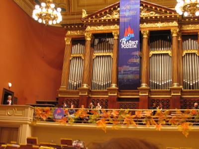 週末の旅 プラハの秋音楽祭